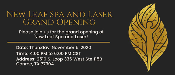 New Leaf Spa and Laser Grand Opening